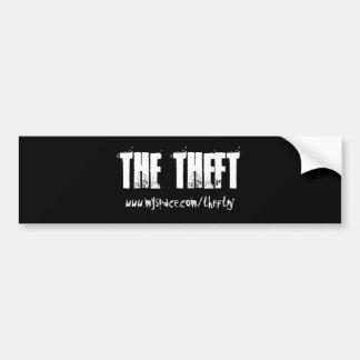 Theft Sticker