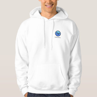TheGeeksPlace Hoddie with text (Small Logo) Hoodie