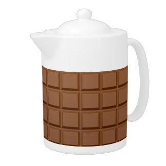 """Théière """"de barre de chocolat"""""""
