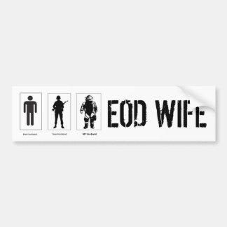 Their Husband Your Husband My Husband Decal EOD