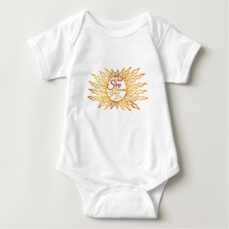 Their Story Becomes Your Lore - Sunburst Baby Baby Bodysuit