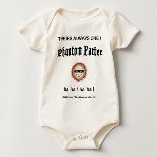 Theirs always one Phantom Farter (Baby) Baby Bodysuit