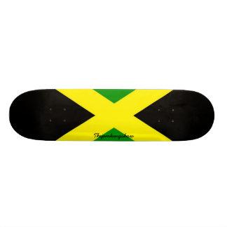 Thejamkingshow Jamaica Signature Skateboard