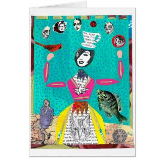 TheJuggling Lady Greeting Card