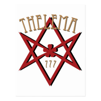 Thelema 777   postcard