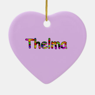 Thelma Christmas Ornaments