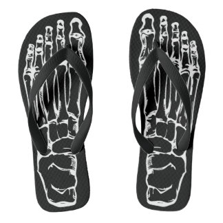 Them Bones! Sold exclusively by Mini Brothers Flip Flops