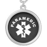 Thème d'infirmier colliers personnalisés