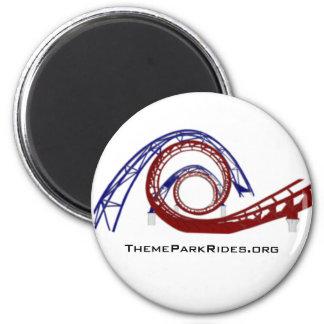 Theme Park Rides Magnet