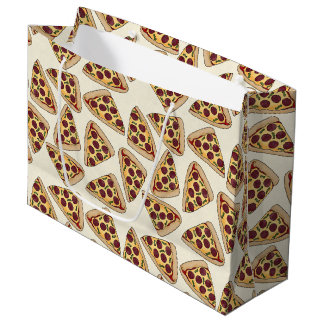 Themed pizza party large gift bag