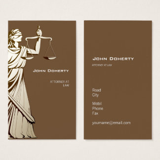 Themis   ATTORNEY AT LAW Business Card
