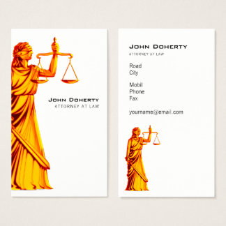 Themis | Attorney At Law Business Card
