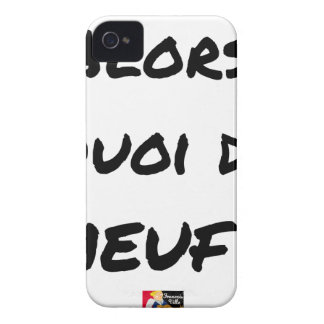THEN, WHAT OF GIRL? - Word games iPhone 4 Case