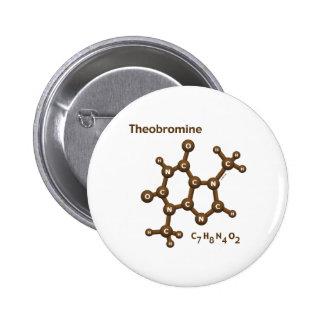 Theobromine Pinback Button