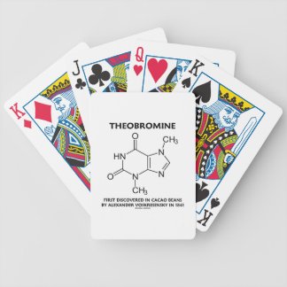 Theobromine First Discovered In Cacao Beans 1841 Poker Deck