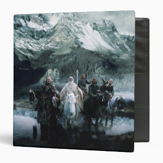 Theoden and the Fellowship 3 Ring Binder