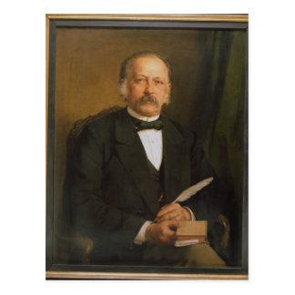 Theodore Fontane, 1883 Postcard