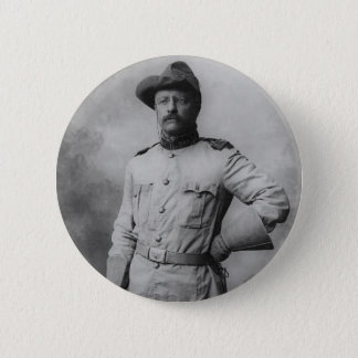 Theodore Roosevelt 2 Inch Round Button
