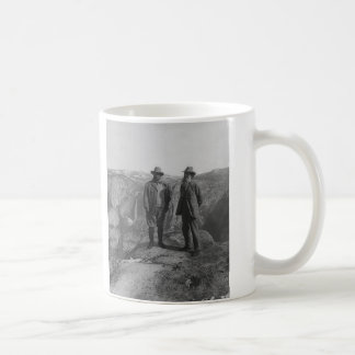 Theodore Roosevelt and John Muir on Glacier Point Coffee Mug