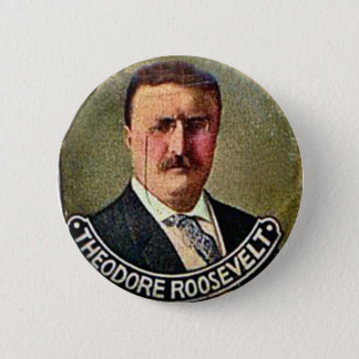 Theodore Roosevelt - Button