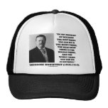 Theodore Roosevelt Decision Right Wrong Thing Mesh Hats