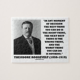 Theodore Roosevelt Moment Of Decision Best Thing Puzzles