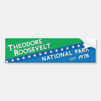 Theodore Roosevelt National Park Bumper Sticker