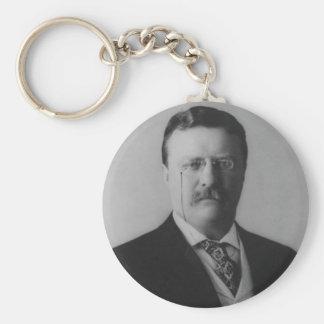 Theodore Roosevelt Portrait Keychain