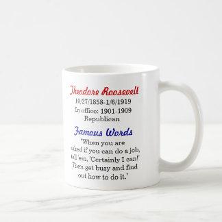 Theodore Roosevelt Quote Mug