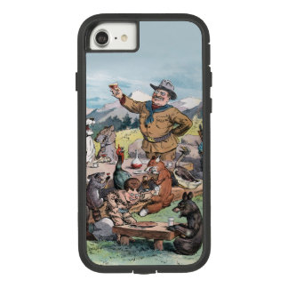 Theodore Roosevelt raises a toast to wildlife Case-Mate Tough Extreme iPhone 8/7 Case