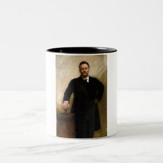 Theodore Roosevelt Two-Tone Coffee Mug