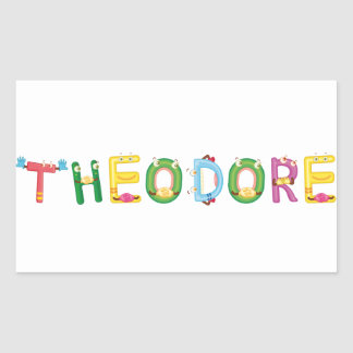 Theodore Sticker