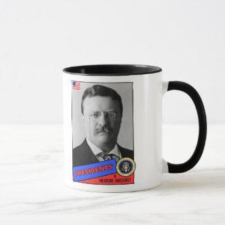 Theodore Teddy Roosevelt Baseball Card Mug