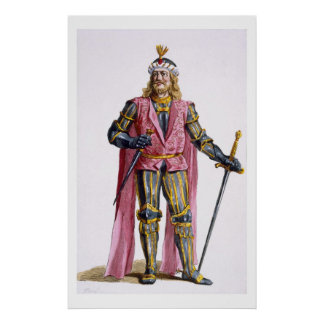 Theodoric I (1053-82) Count of Holland from 'Receu Poster