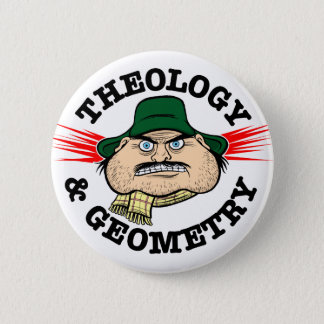 Theology & Geometry 2 Inch Round Button
