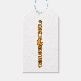 #TheOrangeTurd Gift Tags