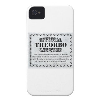 Theorbo License iPhone 4 Cases