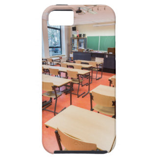 Theory classroom in high school iPhone 5 cover