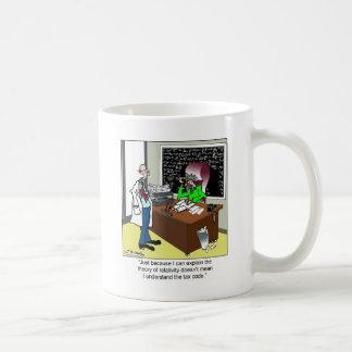 Theory of Relativity & The Tax Code Coffee Mug