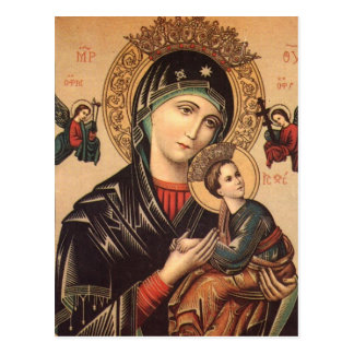 Theotokos icon Postcard
