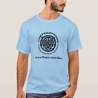 ThePeakPosse Logo T: Men's Cut/Style T-Shirt