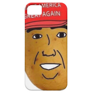 thepotatoofficial logo iPhone 5 case