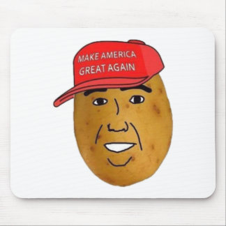 thepotatoofficial logo mouse pad