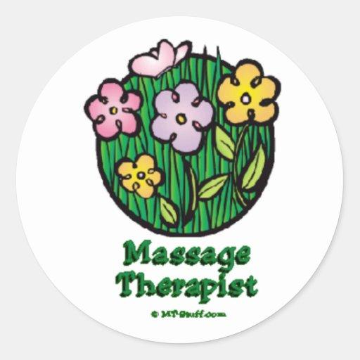 Thérapeute de Blooms2 M Autocollant