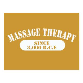 Thérapie de massage depuis 3 000 B C E Cartes Postales