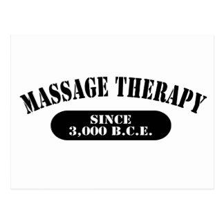 Thérapie de massage depuis 3 000 B C E Carte Postale