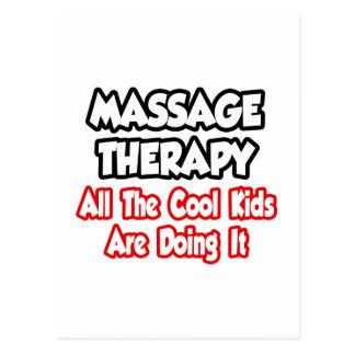 Thérapie de massage… tous les enfants de cool carte postale