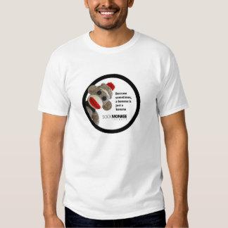 Thérapie de Monkee de chaussette - T-shirt de