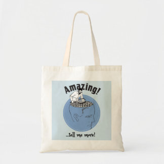 Therapist, Psychologist tote bag. A friend listens