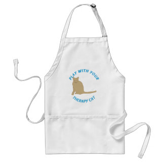Therapy Cat Standard Apron